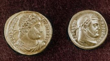 If a profile of a face was on the coin, it was either of a god, ruler or other iconic figure.