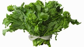 A bitter, nutty taste makes broccoli rabe undesirable as a raw food.