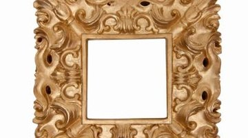 A gold frame is a proper gift for a business associate.