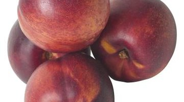 Nectarines have a smooth and sometimes shiny skin.