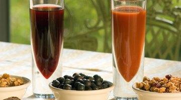¿Por qué el jugo de vegetales puede causar indigestión?