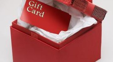 A gift card lets the recipient pick out what he wants.