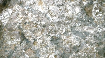 Mica is a shiny silicate mineral found in granite or crystal.