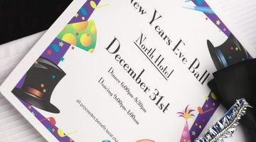 La tarjeta de invitación será una anticipación de lo que será la fiesta.