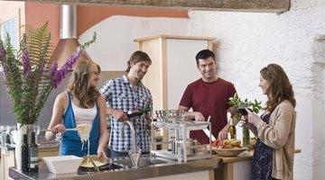 Outdoor appliances provide convenient kitchen ammenities.
