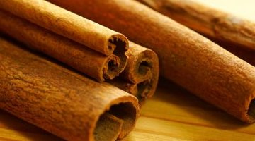Spices such as cinnamon are often added to coffee for extra flavour.