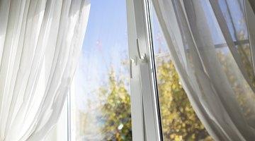 A breeze through a window.