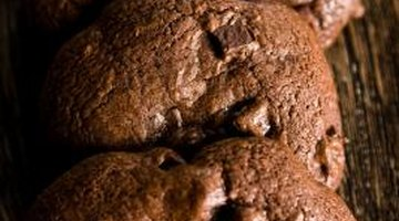 Cocoa doesn't make the darkest chocolate cookies, but it mixes well with sweet spices and nuts.