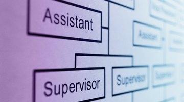 Os gráficos organizacionais fornecem uma visualização instantânea da estrutura de uma empresa