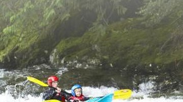 Go on a kayaking adventure with your best friend.