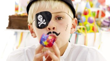 Ensine uma criança a falar como um pirata em uma festa com este tema