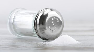 Table salt will also work.