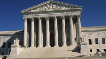 The U.S. Supreme Court is an example of the Corinthian order.