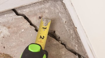 In cold climates the slab may crack.