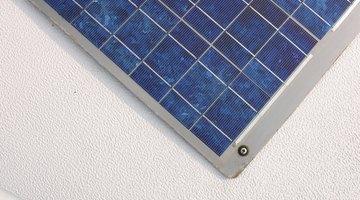 Teste um painel solar usado antes de comprá-lo