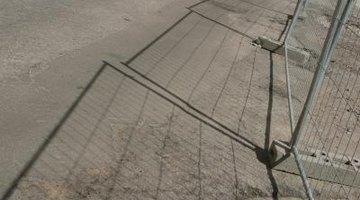 Construction fencing