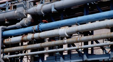 Galvanized pipes are recommended for industrial use.