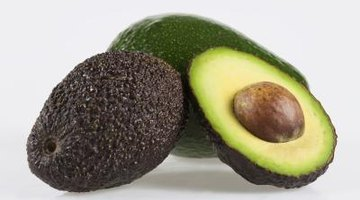Varieties of avocados have green skin that should be free of blemishes.