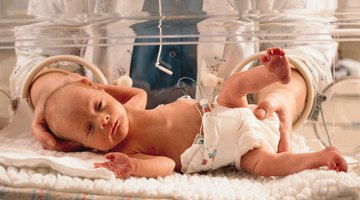 Newborn and Mother in hospital