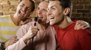 Pub-goers often love singing karaoke.