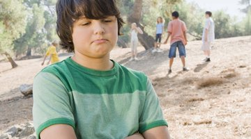 A grieving child may feel isolated and alone in his loss.