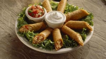 Serve a variety of appetizers.