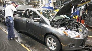 La ubicación del filtro de aceite en el Ford Focus