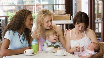 There is nothing stopping you from going out to a restaurant with your baby