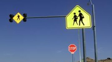 Walking to school unsupervised can pose dangers.