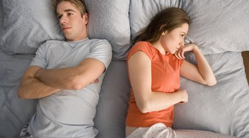 Issues about one partner's past can cause damage in a relationship.