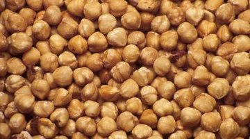 Hazelnuts have a hard shell which can be broken with a nutcracker.