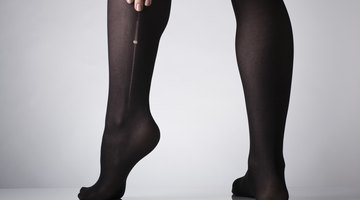 As meias-calças podem ser benéficas tanto em termos de estilo quanto de saúde