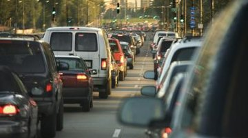 Cities are more congested than the suburbs.