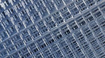 Wire mesh helps hold together cement and keep it from cracking when the ground under it is uneven.