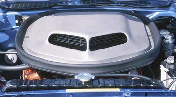 A View of an Air Vent on a Car.