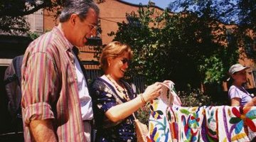 A memory quilt is a thoughtful second anniversary gift.