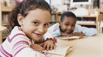 Children read independently in guided reading sessions.