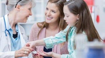 Niños y niveles normales de glucosa en sangre