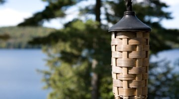 Citronella torches make effective horse fly repellents.
