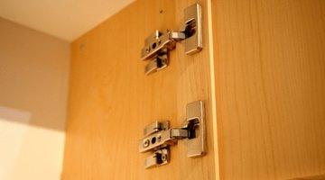 Strengthen hinges before installing door organizers.
