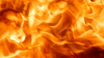 Fire brick keeps the heat in the firebox.