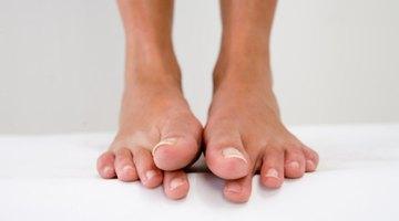 Síntomas de tendón desgarrado en el dedo gordo del pie