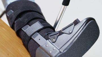 Immobilization With Orthopedic Boot Instructions