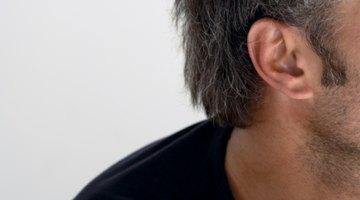 Piel seca en el lóbulo de la oreja