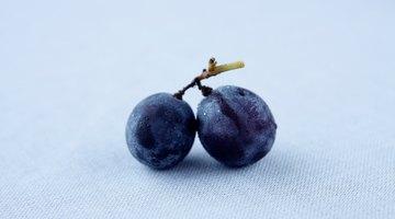 Dolor de estómago por comer uvas