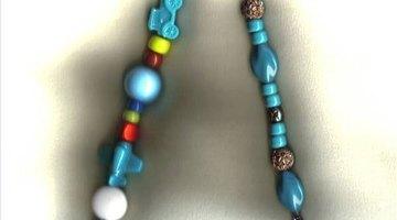Children's themed & turquoise bead pulls