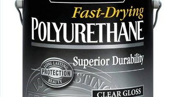 Polyurethane is the clear coat that protects the wood.