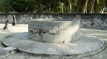 Most people choose to make spring boxes and wells from cement.