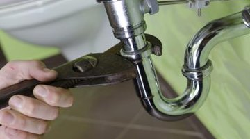 Clogged sink pipes