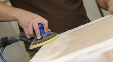 Sanding wooden surfaces